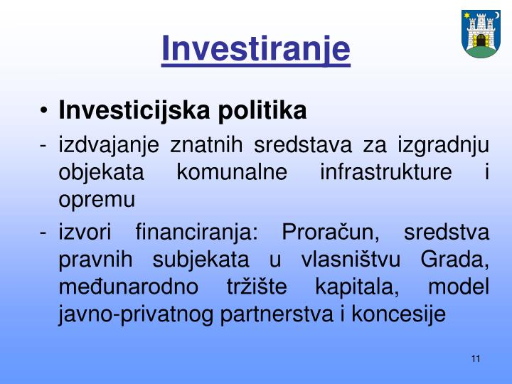 Investiranje