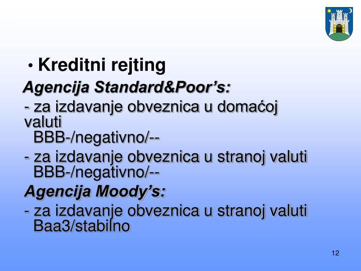Kreditni rejting