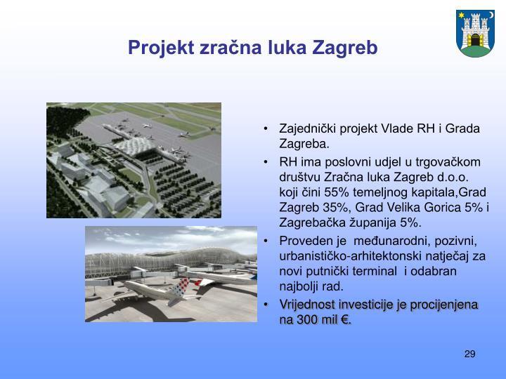 Projekt zračna luka Zagreb