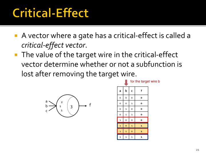 Critical-Effect