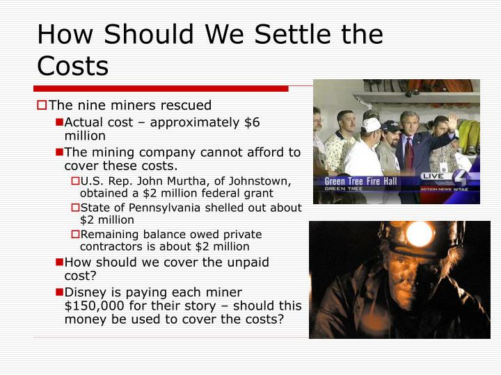 How Should We Settle the Costs