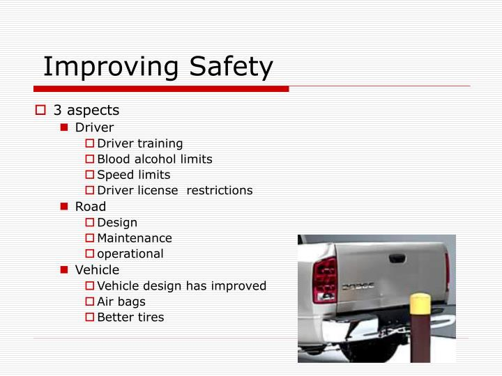 Improving Safety