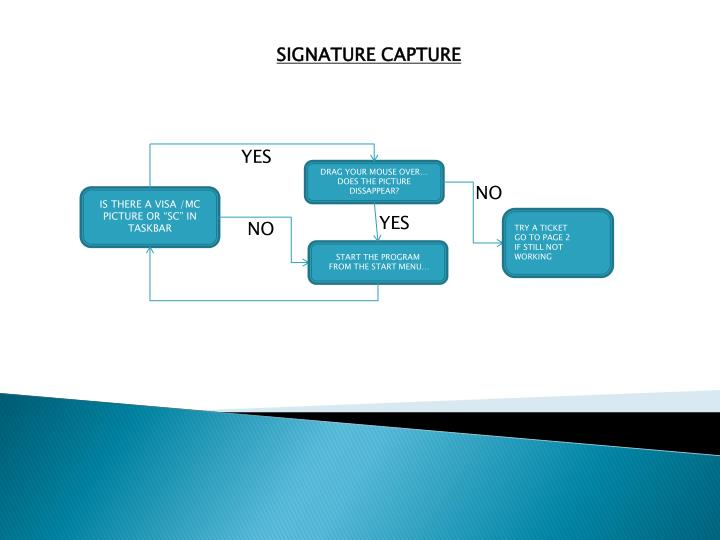 SIGNATURE CAPTURE