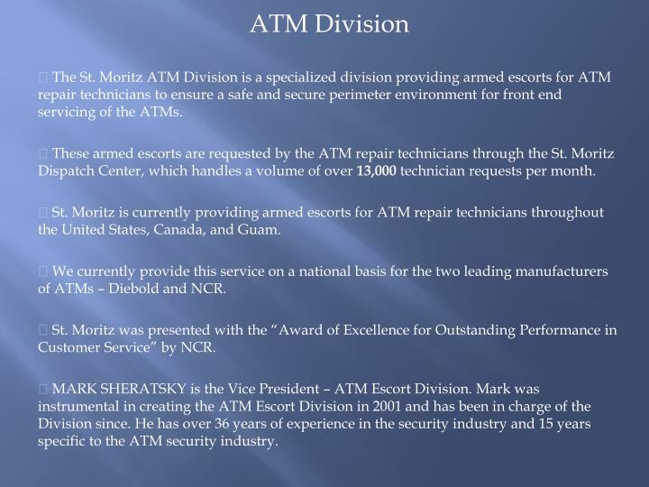 ATM Division