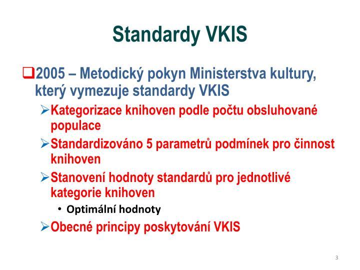 Standardy VKIS