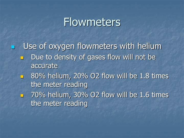 Flowmeters