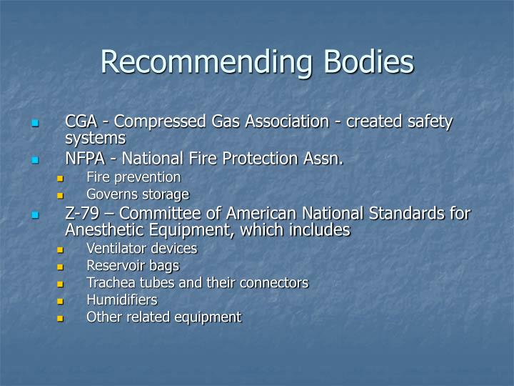 Recommending Bodies