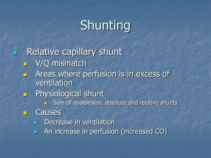 Shunting
