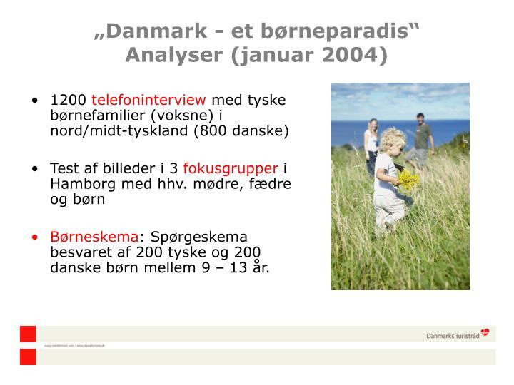 """""""Danmark - et b"""