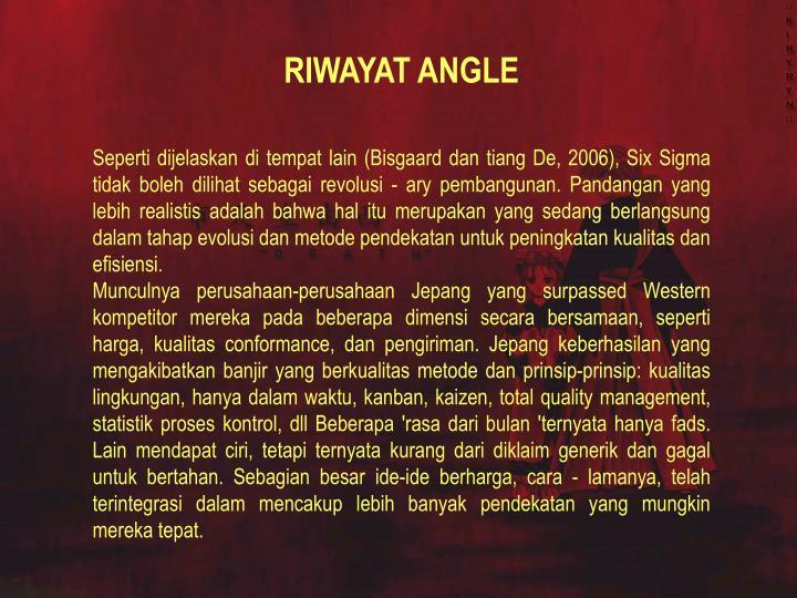 RIWAYAT ANGLE