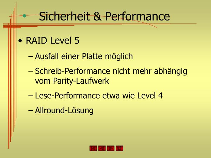 Sicherheit & Performance