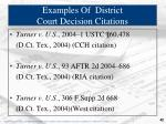 examples of district court decision citations