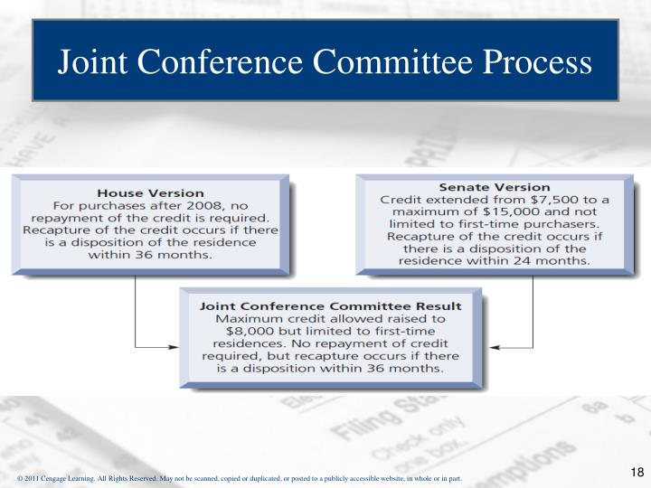 Joint Conference Committee Process