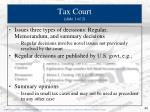 tax court slide 1 of 2