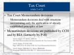 tax court slide 2 of 2
