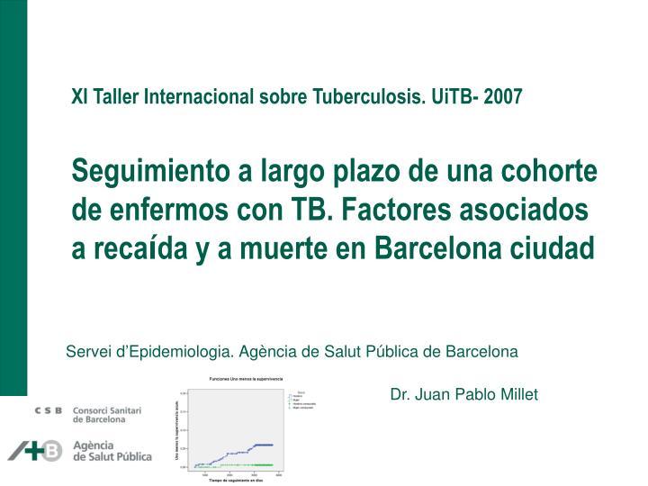 XI Taller Internacional sobre Tuberculosis. UiTB- 2007