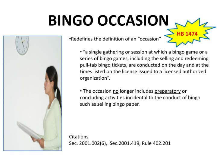 BINGO OCCASION