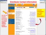 distributor contact information