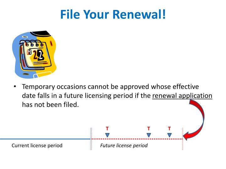 File Your Renewal!