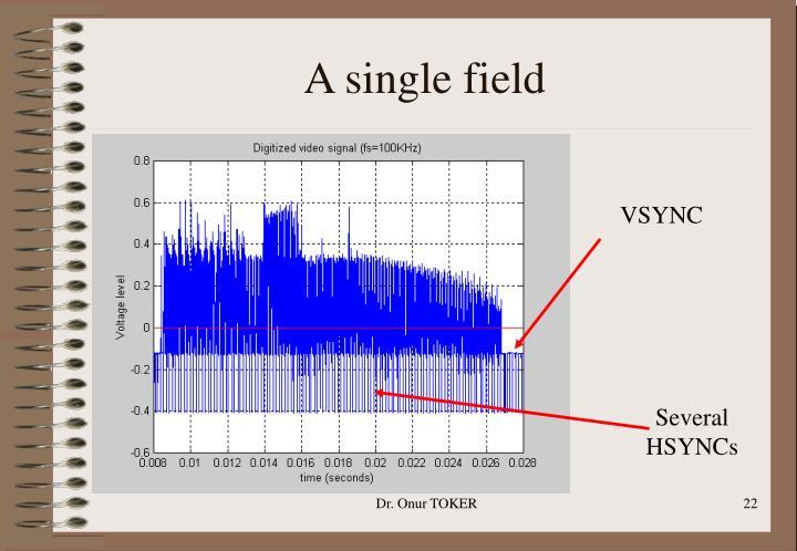 A single field