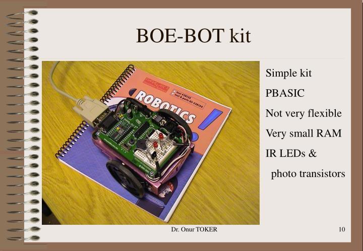 BOE-BOT kit
