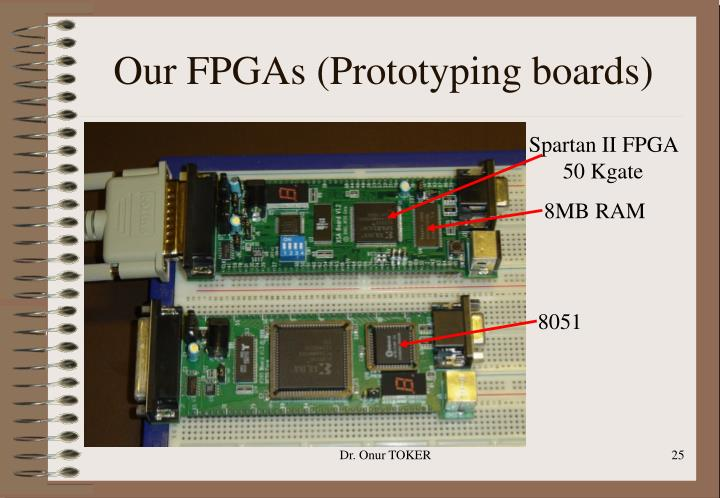 Our FPGAs (Prototyping boards)