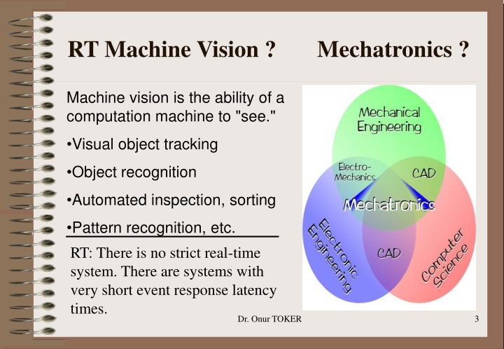 RT Machine Vision ?       Mechatronics ?