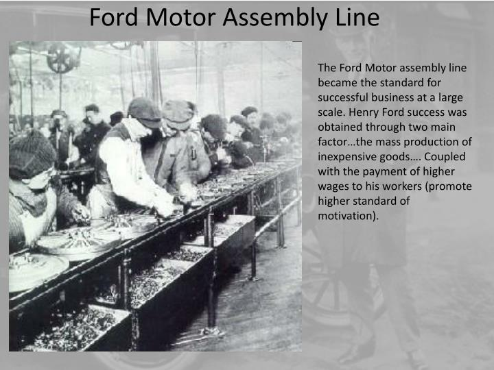 Ford Motor Assembly Line
