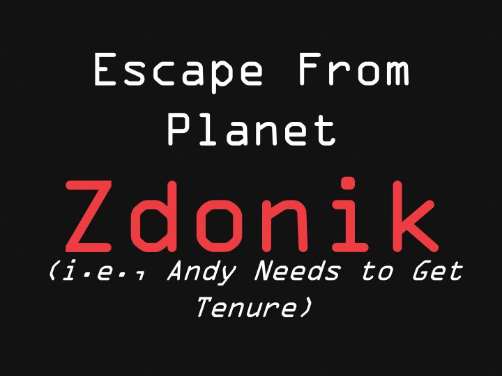 Escape From Planet