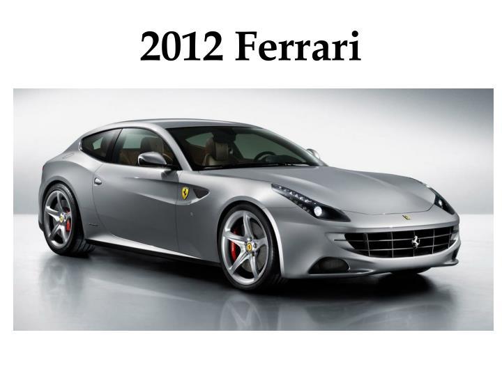 2012 Ferrari
