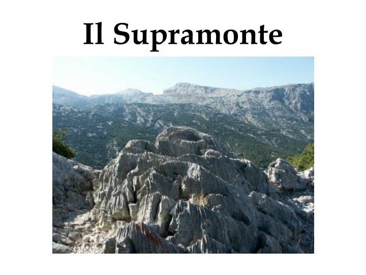 Il Supramonte