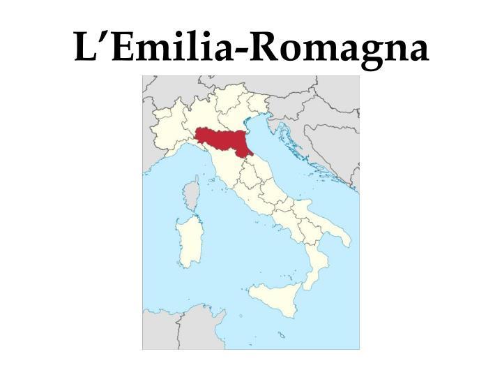 L'Emilia-Romagna