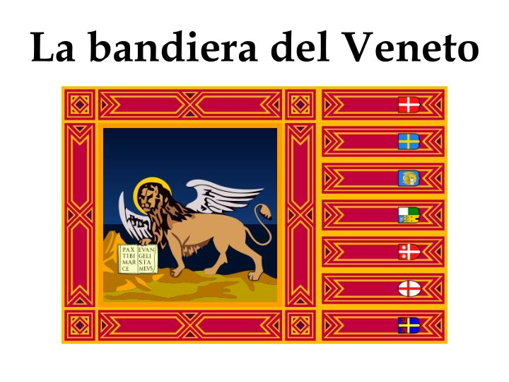 La bandiera del Veneto