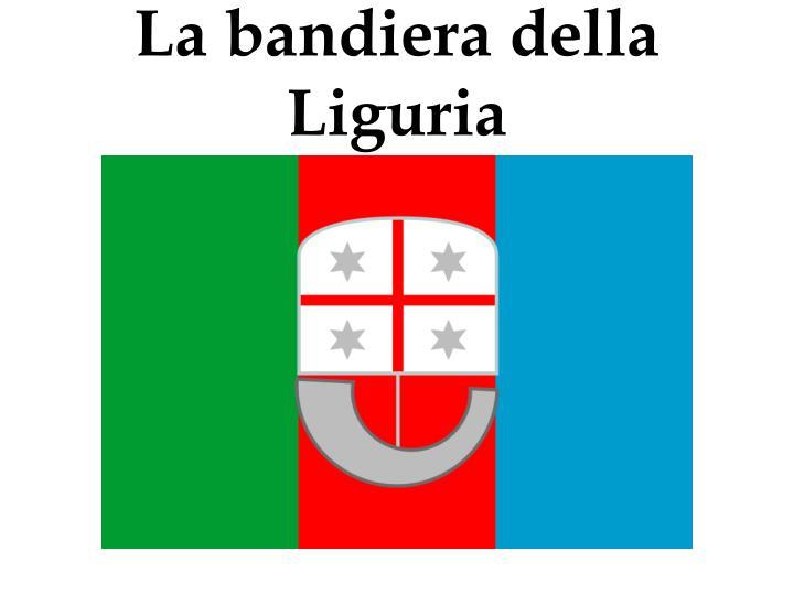La bandiera della Liguria