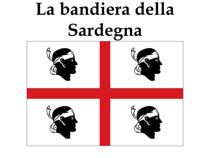 La bandiera della Sardegna
