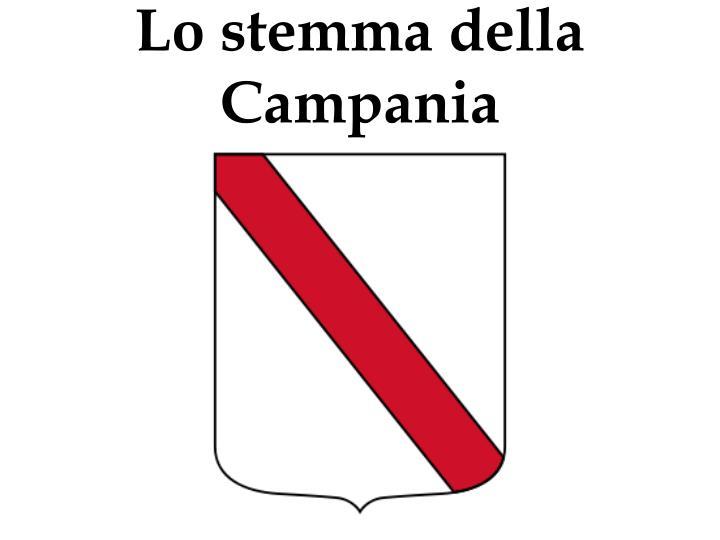 Lo stemma della Campania