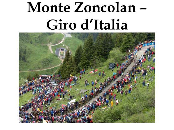 Monte Zoncolan – Giro d'Italia