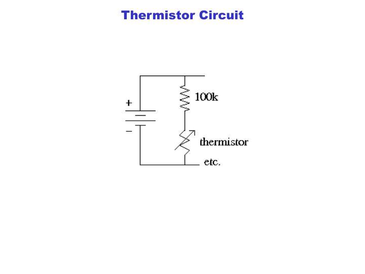 Thermistor Circuit