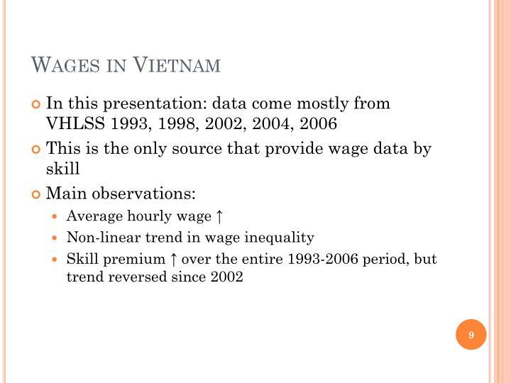 Wages in Vietnam