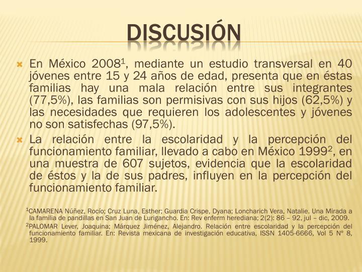 En México 2008