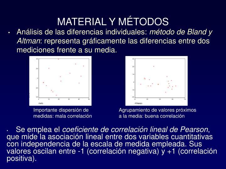 Análisis de las diferencias individuales: