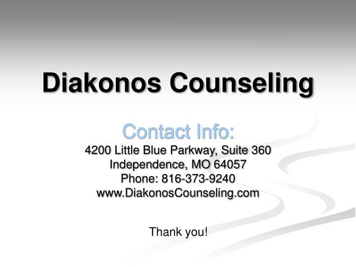 Diakonos Counseling