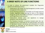 a brief note of line functions