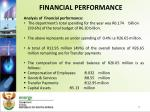 financial performance1