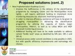 proposed solutions cont 2