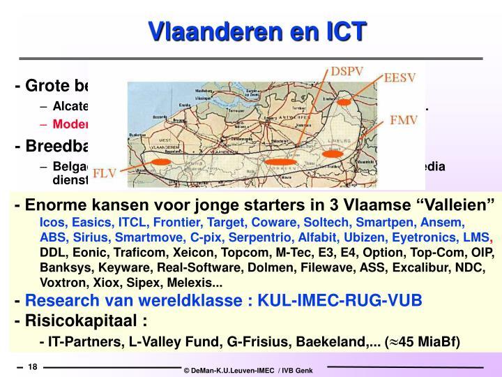 """- Enorme kansen voor jonge starters in 3 Vlaamse """"Valleien"""""""