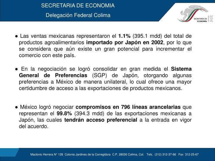 SECRETARIA DE ECONOMIA