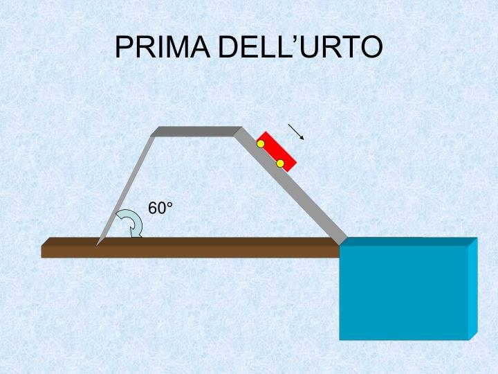 PRIMA DELL'URTO