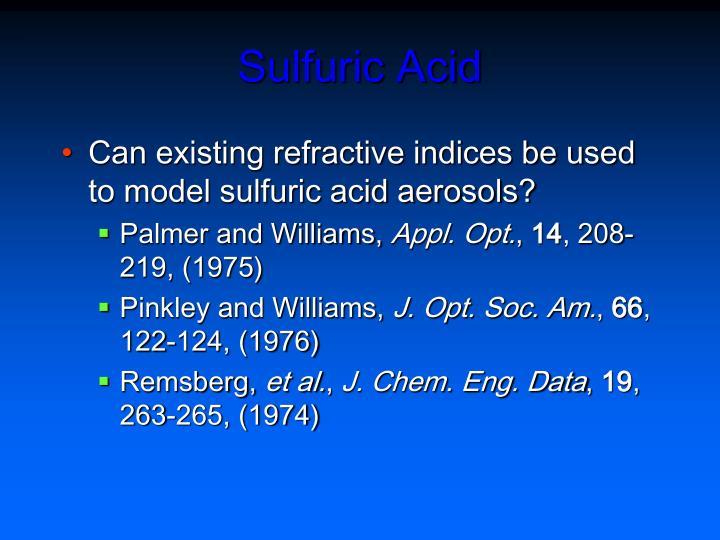 Sulfuric Acid