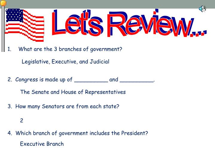 Let's Review...